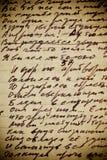 handwriting rocznik Obrazy Stock