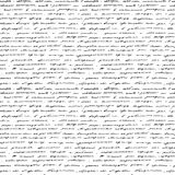 Handwriting. Seamless  background. Stock Image
