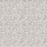 Handwriting. Seamless vector background. Royalty Free Stock Photo