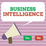Handwriting teksta business intelligence Pojęcia znaczenia najlepsza praktyka Optymalizować Perforanalysisce informacja royalty ilustracja