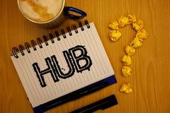 Handwriting teksta centrum Pojęcia znaczenia przyrządu komputerów złączony centrum koło aktywność transportu pomysłów grunge nota Zdjęcia Royalty Free