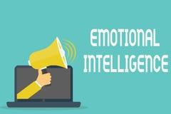 Handwriting teksta Emocjonalna inteligencja Pojęcia znaczenia jaźń i Ogólnospołeczna świadomość Obchodzimy się związki dobrze zdjęcia stock