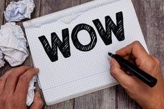 Handwriting teksta no! no! Pojęcia znaczenie Wyraża zdziwienia i respektu Historycznego sukces Ekscytuje someone ogromnie fotografia stock