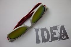 Handwriting teksta pomysł Pojęcie znaczy Kreatywnie Nowatorskiego Myślącego wyobraźnia projekta rozwiązań Grunge pomysłów wiadomo Obraz Royalty Free