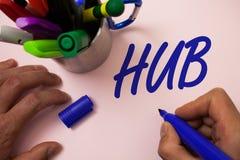 Handwriting teksta writing centrum Pojęcia znaczenia przyrządu komputerów złączony centrum koło aktywność transportu mężczyzna pr Obrazy Stock
