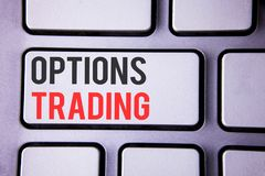 Definition of trading options