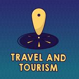 Handwriting text Travel And Tourism. Concept meaning Temporary Movement of People to Destinations or Locations.  stock illustration