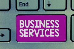 Writing services mean