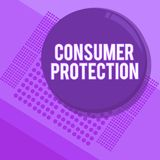 Handwriting text writing Consumer Protection. Concept meaning Fair Trade Laws to ensure Consumers Rights Protection.  vector illustration