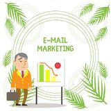 Handwriting text writing E Mail Marketing. Concept meaning Ecommerce Advertising Online sales Newsletters Promotion. Handwriting text writing E Mail Marketing royalty free stock photo