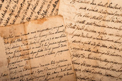 Handwritings Stock Photos