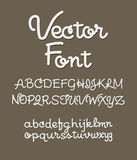 Handwritten alphabet letters . ABC for your design. Stock Image