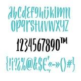 Handwritten Font Stock Photos