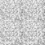 Handwritten letter Stock Image
