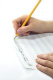 Handwritten Music Stock Images