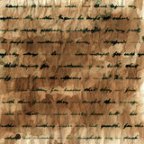 Handwritten text background Royalty Free Stock Image