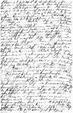 Handwritten text. Grunge paper texture background Stock Photos