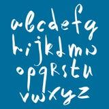 Handwritten vector script. Stock Images