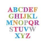 Handwritten vector script. Stock Image