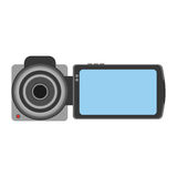 Handy camera isolated icon Royalty Free Stock Photography
