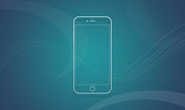 Handy iPhone 6 Stockfotografie