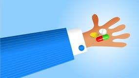 Handy medication Stock Photo