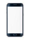 Handy mit unbelegtem Bildschirm Stockfoto