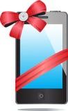 Handy und Geschenk Lizenzfreie Stockfotografie