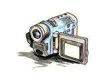 Handy Video Camera Royalty Free Stock Photo
