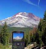 Handyfoto Stockbild