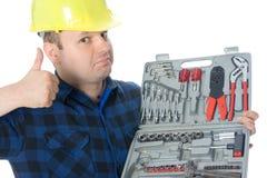 handyman αντίχειρας επάνω στοκ φωτογραφίες με δικαίωμα ελεύθερης χρήσης
