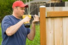 handyman επισκευή βασικών προγ&rho Στοκ Εικόνα