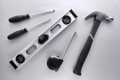 handyman εργαλεία κατασκευής Στοκ εικόνα με δικαίωμα ελεύθερης χρήσης