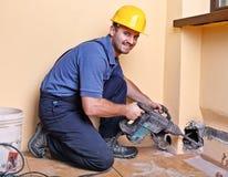 handyman εργασία Στοκ Εικόνες