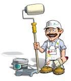 Handyman - ζωγράφος Στοκ εικόνες με δικαίωμα ελεύθερης χρήσης