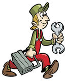 handyman stock illustrationer