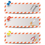 Handyman banners 1 Royalty Free Stock Image