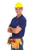 Handyman Crossed Arms Stock Photos
