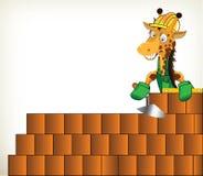Handyman Giraffe Royalty Free Stock Image