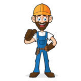 Handyman Giving Thumb Up Royalty Free Stock Photography