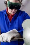 Handyman grinder Royalty Free Stock Images