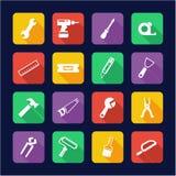 Handyman Icons Flat Design Royalty Free Stock Image