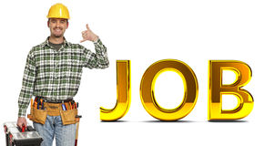 Handyman and job background Stock Photos