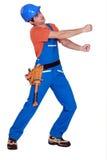 Handyman has lost it Royalty Free Stock Photography