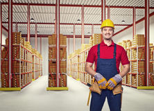 Handyman portrair Stock Photos