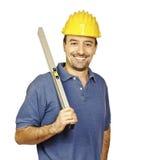 Handyman portrait royalty free stock image