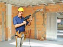 Handyman portrait Stock Images