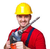 Handyman portrait Stock Photography