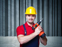 Handyman portrait Royalty Free Stock Photography