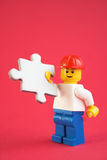 Handyman puzzle Stock Photos